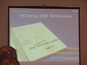 2009 MVP Global Summit - HPC