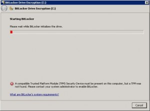 Windows 7 BitLocker on system partition without TPM 01