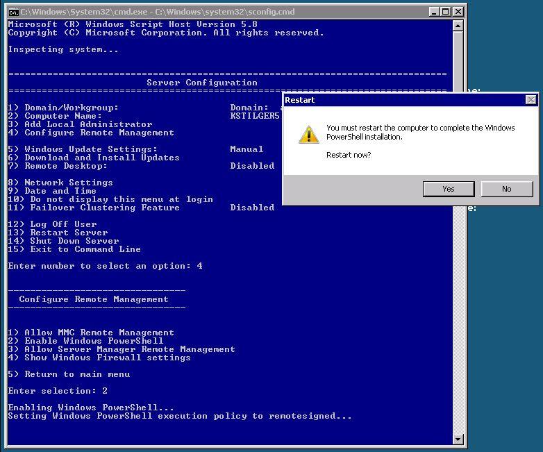 Download powershell 20 server 2003