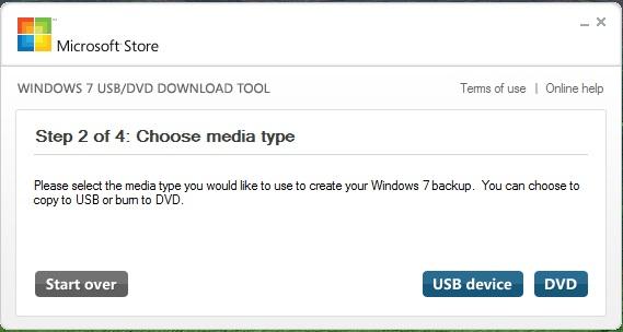 usb dvd tool
